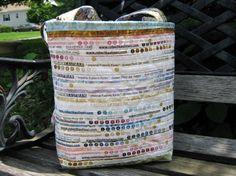 Selvage edge bag