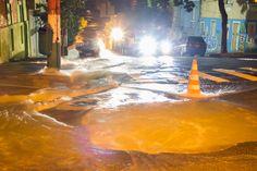 São Paulo: #Adutora da Sabesp se rompe e inunda ruas na Bela Vista, no centro de São Paulo
