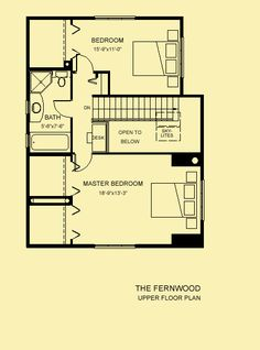 Architectural House Plans : Floor Plan Details : Fernwood