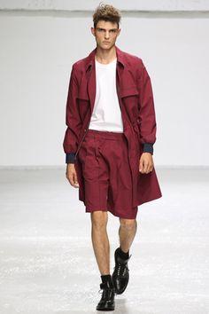 coordinated separates. Kris Van Assche Spring 2013 Menswear