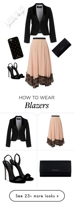"""""""Elegant ❤️"""" by sdwatson95 on Polyvore featuring Dsquared2, Giuseppe Zanotti, Givenchy and Kate Spade"""