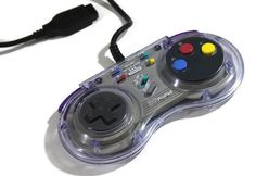 SG ProPad Sega Genesis Controller 1993 Purple Tint by Retro8Games