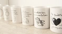 todas_2 House Rooms, Sharpie, Ideas Para, Mugs, Tableware, Diy, China, Products, Roll Ups