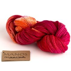 Manos Del Uruguay Maxima Space-Dyed yarn is a snuggly-soft 100% extrafine merino wool, with a light single-ply construction. With its popular worsted-weight gauge, this is a versatile yarn, great for creating cosy accessories like hats, scarves and cowls. Available in a range of rich and beautiful colour combinations. Manos yarns are hand-dyed in large kettles following traditions passed down from one generation to the next. There are no dye lots, so no two skeins are exactly alike. Please…