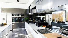 In Pictures: Max + Karstan's 'clinical' kitchen | The Block Glasshouse | 9jumpin
