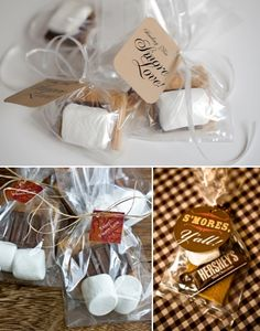 S'more Love I 10 Unique Wedding Favor Ideas — Wedding Ideas, Wedding Trends, and Wedding Galleries