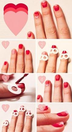 Una hermosa idea para decorar tus uñas. Utiliza las plantillas a tu antojo. :D