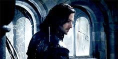 Robin Hood BBC - Richard Armitage as Guy of Gisborne #season3 tumblr_nl5jhtfcDo1qj0fdgo2_500.gif (500×250)