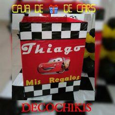 Caja de regalo de cars
