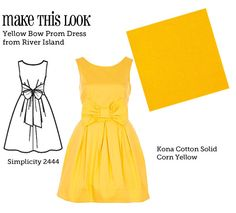 Mtl-yellow-bow. it's a shame I can't wear yellow... I wonder what colour wil be in for the spring that I can wear...