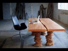 Dänische Massivholzmöbel Mit Organischer Ästhetik Oder Funktionale  Skulpturen U2013 So Kann Man Die Produkte Von WoodnWonder Bezeichnen. Es  Handelt Sich Um