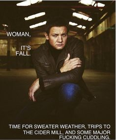 It's hey woman with Jeremy Renner...YES!!! THANK YOU :)
