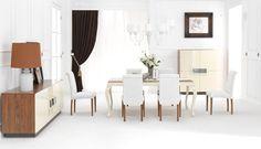 Bonaldo Yemek Odası #TepeHome #yemekodasi #yemektakimi #masa #mobilya #evdekorasyonu #sandalye #diningroomsets #furniture #homedecor #dinnertable #diningtable #table #chair