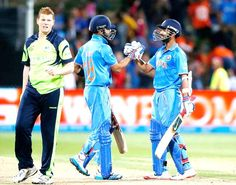 India vs Ireland, 34th match, Pool B This was India's fifth consecutive win in this edition and it was the ninth successive win for MS Dhoni in World Cups, the most by an Indian captain.