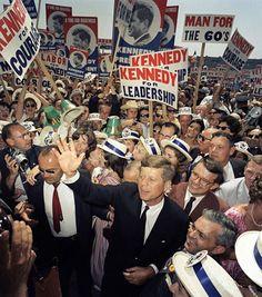 John F. Kennedy 1960 Presidential Campaign