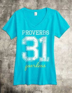 Proverbs 31  A Super Soft V-Neck Women's by SetFreeApparel on Etsy