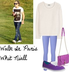 """I love Niall"" by directionerselenatorforever ❤ liked on Polyvore"