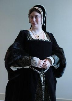 Custom Made, Proper Henrician Lady's Gown c. 1520s-40s
