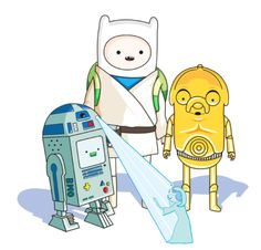Adventure Time Crossovers and Mashups