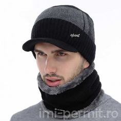 Shop & Buy Winter Beanie Men Knitted Hat Scarf Skullies Beanies Winter Hats For Men Women Caps Gorras Bonnet Fashion Cap Hats Online from Aalamey Winter Knit Hats, Winter Hats For Men, Winter Beanies, Winter Caps, Men's Beanies, Beanie Hats, Visor Beanie, Hat And Scarf Sets, Hat For Man