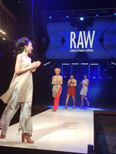 On the runway for RAW - Brisbane's April event, Verse  Designer: Xandra Bell Clothing Hair: Subets Makeup: Sparks Makeup Artistry