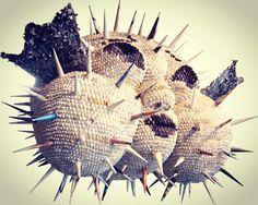 #복어 #a globefish  #desire #paper #magazine  #artwork #yoo young wun 50×70×80Cm