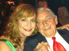 Mary Macdonough and Ralph Waite. He passed away today. 2/13/2014     Mary Ellen and Daddy Walton.
