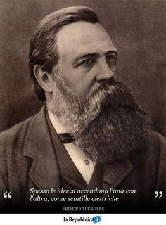 28 novembre 1820 - Nasce il filosofo tedesco Friedrich Engels