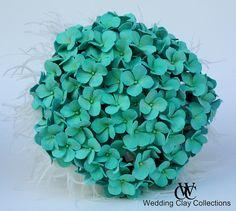 Tiffany Blue Wedding Bouquets | Tiffany Blue Hydrangea Bridal Bouquet 4 | Flickr - Photo Sharing!