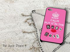 Keep Calm Burn Book iPhone 4 iPhone 4S Case by casedragon on Etsy, $15.79