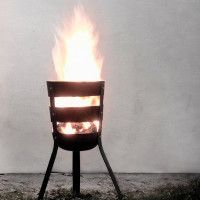 Fire Basket Is A Portable Fire Pit | Cool Material