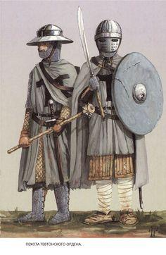 тевтонский орден Medieval Armor, Medieval Fantasy, Crusader Knight, High Middle Ages, Templer, Landsknecht, Knight Art, Renaissance Era, Knights Templar