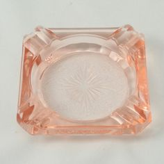 Vtg Pink Depression Glass Ashtray MacBeth Evans 7542A by charmings http://etsy.me/GXNCDg via @Etsy