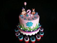 Dog & cat cake
