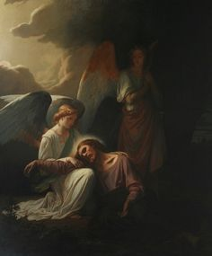 Jesus with Angels