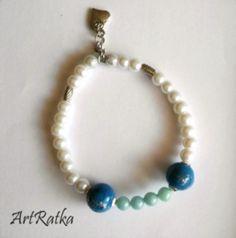 Bransoletka na gumce - ArtRatka - Biżuteria
