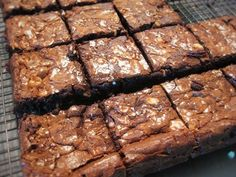 Not just best, but Best Thermomix Brownies Brownies Everrrrr. I've translated my Pastry Chef recipe into an easy Thermomix recipe. Gooey Brownies, Chocolate Fudge Brownies, Chef Recipes, Sweet Recipes, Cooking Recipes, Paleo Recipes, Yummy Recipes, Delicious Desserts, Breakfast