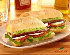 Restaurante America - Cardápio - Sanduíches - Veggie Sandwich