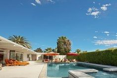 Former Estate of Tony Curtis & Janet Leigh! Built by designer and developer Roy Fey in 1960, this private, gated 3,204-square-foot house sits on about a third of an acre in the Movie Colony, a neighbo...