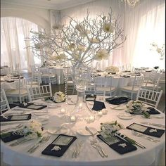 Winter Wonderland Wedding in Spring » Events of Glamour.com