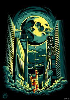 Луна Автор: anggatantama