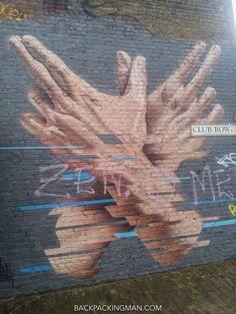 street art in london Street Art London, 3d Street Art, Amazing Street Art, London Art, Street Artists, Amazing Art, Graffiti Drawing, Wall Drawing, Street Art Graffiti