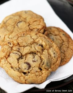 For the Love of Chocolate Chip Cookies | Savory Sweet Life - Easy Recipes from an Everyday Home Cook