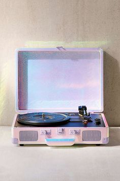 Dreamy Crosley Lavender Ice Cruiser Bluetooth Record Player