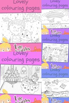 Download 25 beautiful colouring pages in ready to print format for free! Print Format, Colouring Pages, Scribble, Bullet Journal, Free, Color, Beautiful, Quote Coloring Pages, Coloring Pages