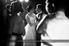 First dance at Bartle Hall wedding.