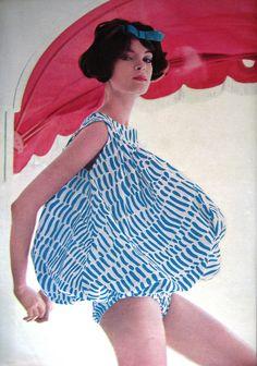 Vogue July 1958, via Flickr.