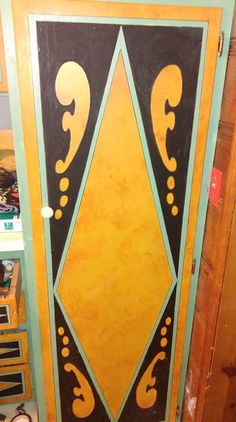 Wildwood Pantry Cabinets ~ painted by Sandy Wischnewsky, (me)