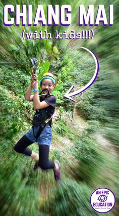 Best Things to Do in Chiang Mai with Kids: Our Family Travel Guide | Thailand Family Travel | Thailand Travel | What to eat in Chiang Mai | Family Hotels in Chiang Mai | How to get around in Chiang Mai | Zipline in Chiang Mai | Fruit Carving in Chiang Mai | Elephant Nature Park | Thai Cooking Class | Art Class in Chiang Mai | Huay Tung Tao Lake | Where to eat in Chiang Mai | Fishing in Chiang Mai |