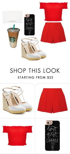 """Untitled #40"" by cacker0214 ❤ liked on Polyvore featuring Fendi, Alice + Olivia, Miss Selfridge, Casetify and Khirma Eliazov"